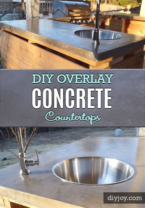brilliant diy concrete countertops are easier than you
