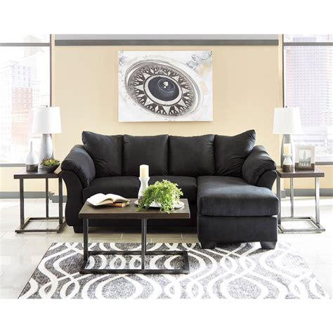 signature design by ashley darcy sofa chaise signature design by ashley darcy black contemporary sofa