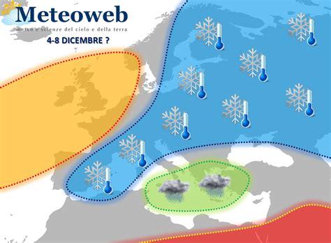 meteo web previsioni meteo novembre finisce con una