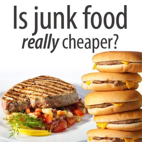 vs food is junk food cheaper than healthy food