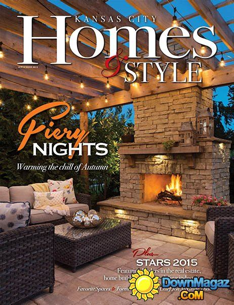 kansas city home design magazine kansas city homes style usa september 2015 187 download