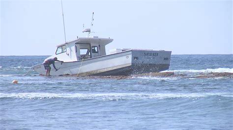 dlnr cites owner of boat stuck at kohanaiki - Hoku Boats