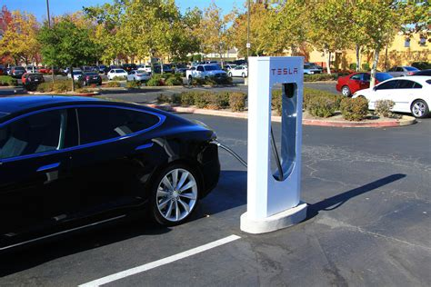 Tesla Supercharger Speed Preparing For The Zero Carbon Highway And Parking Lot