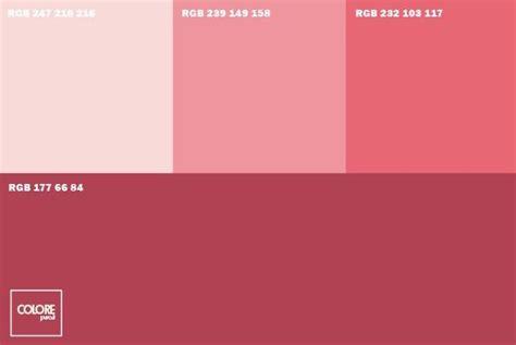 Tonalità Di Colori by Abbinamento Diverse Tonalit 224 Di Rosa Abbinamenti Colore