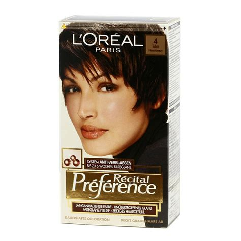 l oreal superior preference hair l oreal recital preference 4 tahiti brown http