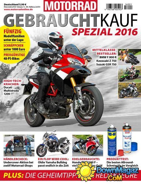 Motorrad Bmw Spezial Zeitschrift by Motorrad Spezial 2016 187 Download Pdf Magazines Deutsch
