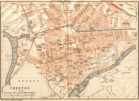 map uk chester free maps of and