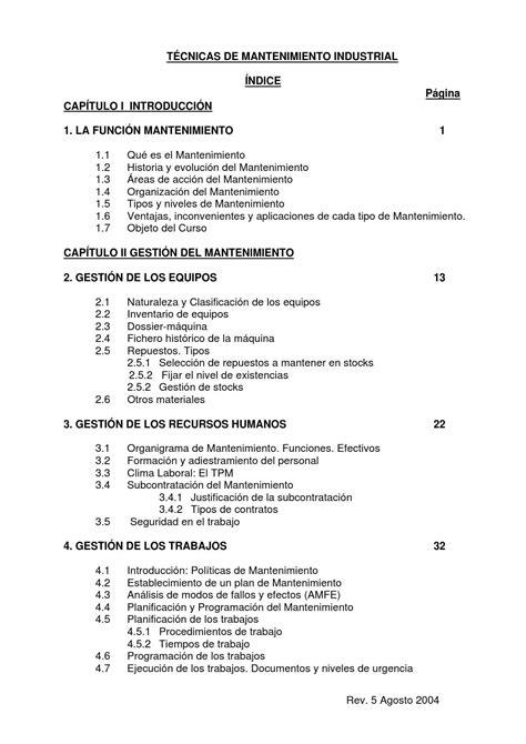 Libro de mantenimiento industrial by Cesar Augusto Mestre