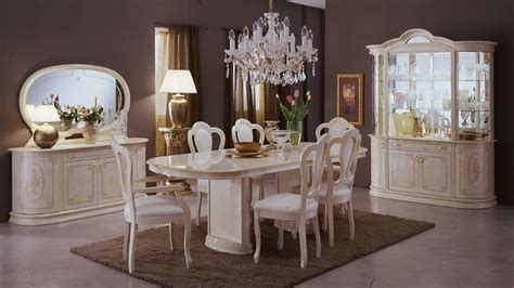 italian dining room sets milady italian lacquer dining set