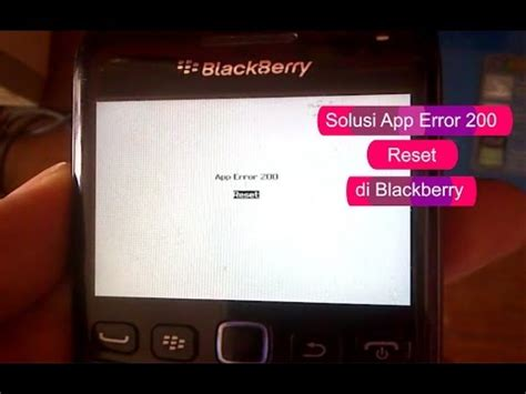 blackberry reset error 200 cara flash bb 9220 funnydog tv
