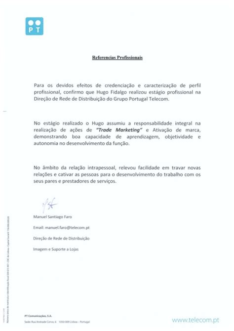 Reference Letter Sle Supervisor Reference Letter From Dr Manuel Faro Comercial Department Manager A