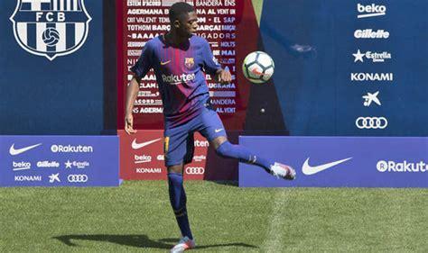 ousmane dembele knee injury barcelona transfer news ousmane dembele discusses lionel