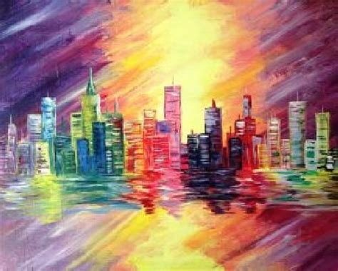 paint nite cities 80 best images about ღ canvas uncategorized ღ on