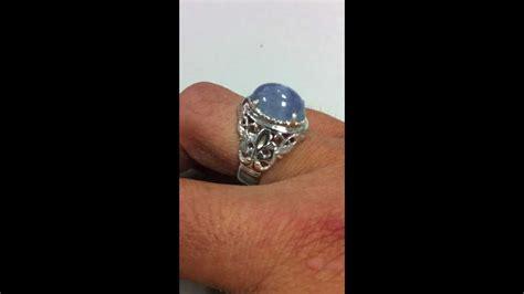 I Ring Cincin Hp sky blue ceylon sapphire ring cincin nilam sri lanka