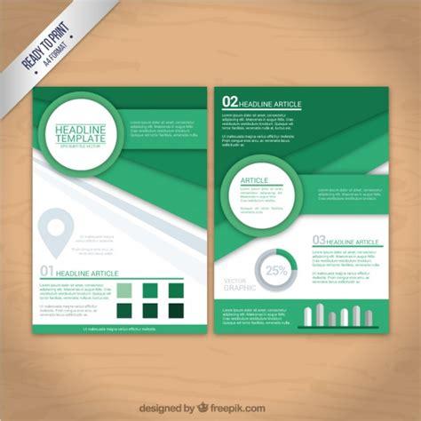 flyer design freepik geometric shapes flyer vector free download