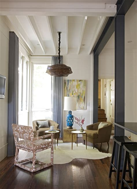 ideas   metal beams  interior design shelterness