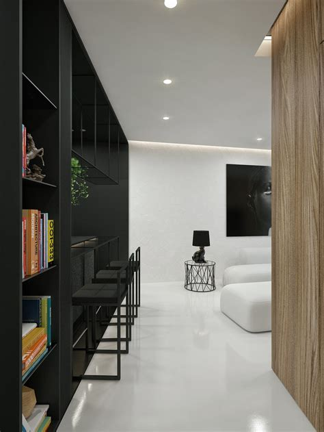 design my apartment black and white interior design ideas modern apartment by