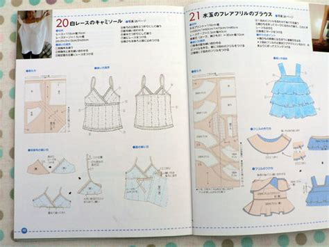 bra pattern making books camisole top from japanese pattern book everyday tops