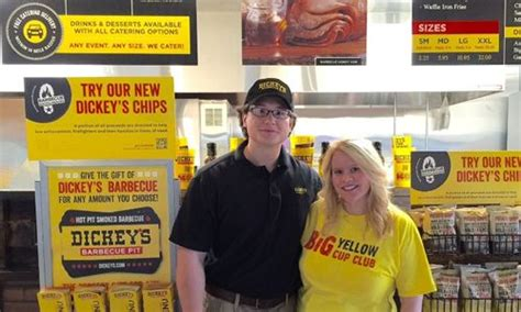 Dickies Gift Card - dickey s barbecue pit brings texas style barbecue to tennessee restaurant magazine
