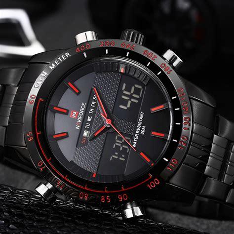 Jam Tangan Pria Sporty Waterproof Dziner 8179 navi jam tangan analog digital pria 9024 black jakartanotebook