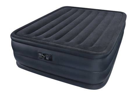 intex airbed      queen size raised downy