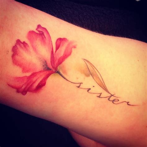 flower tattoos with names 1000 ideas about flower tattoos on pretty