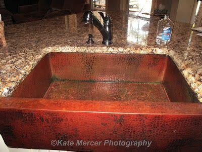 How To Clean Copper Sink by How To Clean A Copper Sink Cleaning House