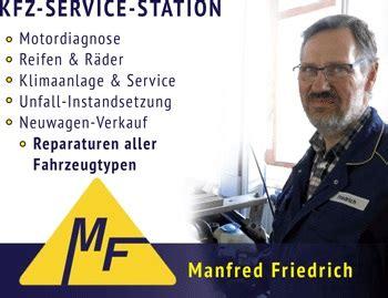 kfz service kfz service station friedrich in ziethen