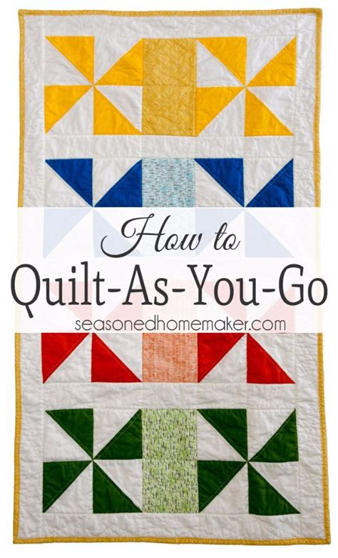 Quilt As You Go Patterns by 35 Easy Quilts To Make This Weekend Diy