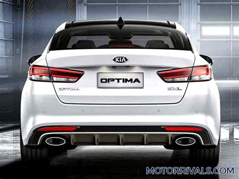 Kia Optima Rear View 2017 Kia Optima Photo Gallery Motor Rivals