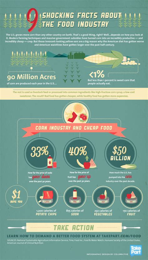 5 Most Shocking Controversies In The Food Industry - infographic 9 shocking facts about the food industry