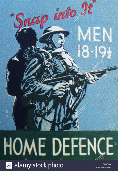 how to a to guard your home recruitment poster for home guard world war two 1940 stock photo royalty