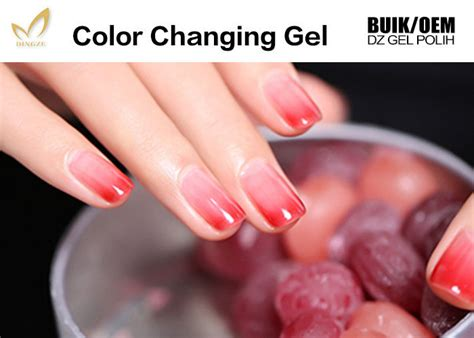 heat activated color changing nail chemical free heat activated color changing nail
