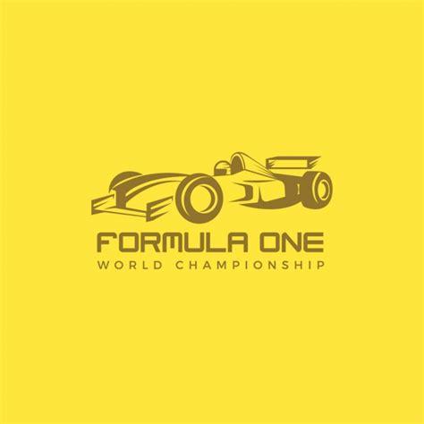 Auto Logo Gelb by Logo Von Rennwagen Auf Einem Gelben Hintergrund Download