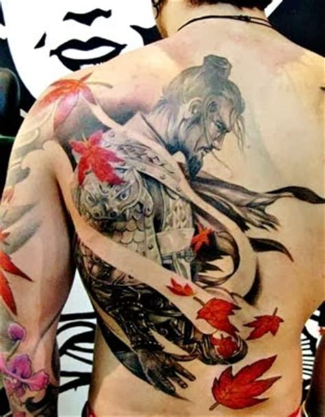 tattoo oriental dragão significado fant 225 stica tatuagem de samurai pinteres