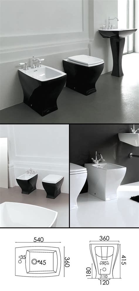 bathroom suites with bidet back to wall black bidet part of coloured bathroom suite collection