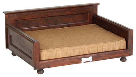 orthopaedic sofa bed quot traditional quot pet bed with orthopedic foam mattress