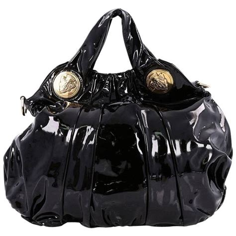 Gucci Hysteria Large Top Handle Bag by Gucci Hysteria Convertible Top Handle Bag Patent Large For