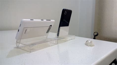 mobile phone desk stand make a desk stand for your mobile phone with a cassette