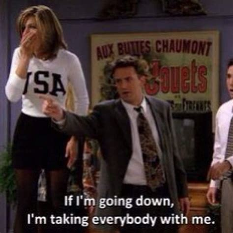 25 best chandler quotes on friends