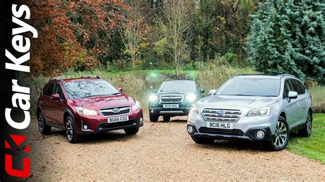subaru xv road we take the subaru xv subaru outback and subaru forester