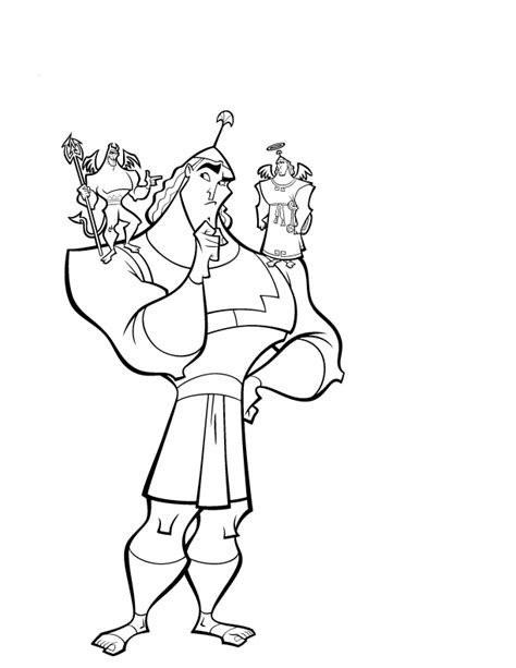 emperor coloring pages emperor new groove coloring pages coloringpagesabc