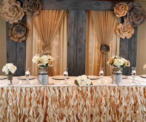 Handmade Wedding Decor - diy wedding decorations backdrop siudy net