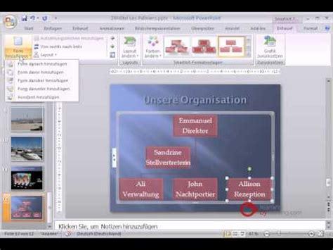 tutorial powerpoint deutsch powerpoint pr 228 sentation tutorial deutsch organigramme