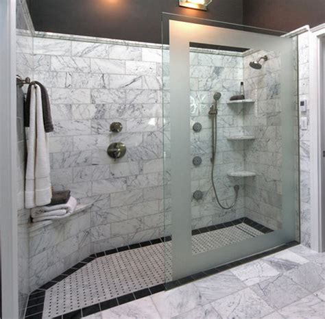 walk in bathroom ideas doorless walk in shower designs snail shell joy studio