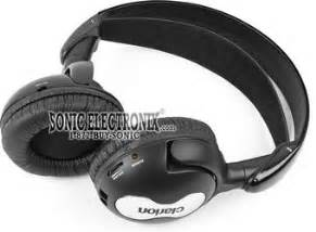 Headphone Clarion Pro 2830 Clarion Wh114h Infrared Wireless Headphones Sonic Electronix