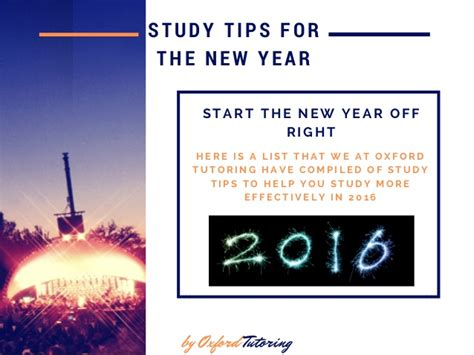 new year oxford 2016 10 study tips to study more effectively in 2016 by oxford