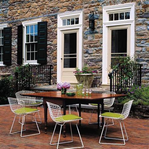Bertoia Outdoor Chair by Bertoia Outdoor Chair Knoll International