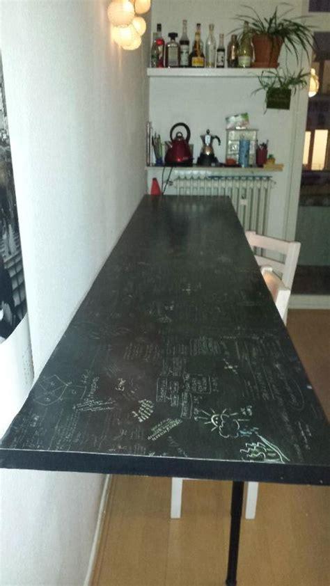arbeitsplatte tafel tisch aus arbeitsplatte m 246 bel ideen und home design