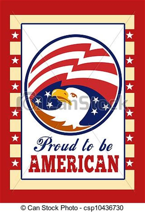 How To Be An American Drawings Of American Proud Eagle Independence Day Poster Greeting Card Csp10436730 Search